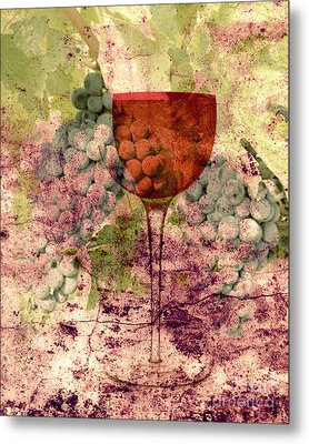 From The Vine Metal Print