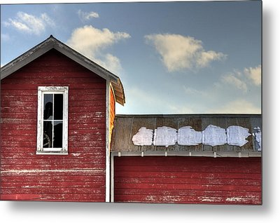 Ft Collins Barn 13493 Metal Print by Jerry Sodorff