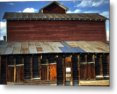 Ft Collins Barn 13553 Metal Print by Jerry Sodorff