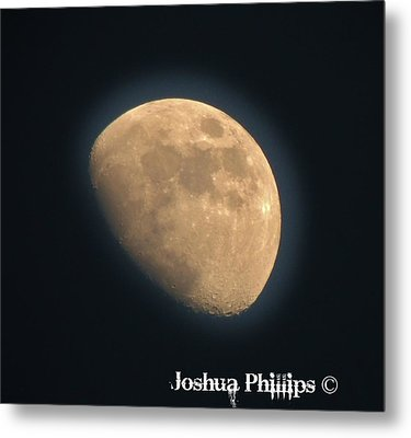Full Moon Metal Print by Joshua Phillips