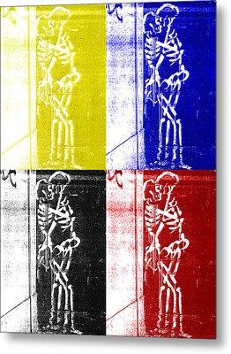 Metal Print featuring the digital art Fundamentals by Randall Henrie