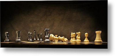 Game Over Metal Print by Don Hammond