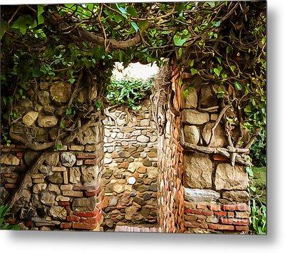 Garden Walls Metal Print by Lutz Baar