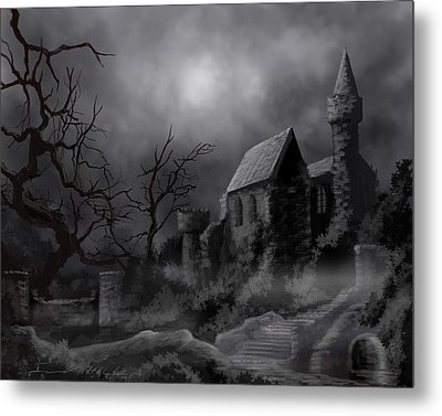 Gathluma's Castle Metal Print by James Christopher Hill
