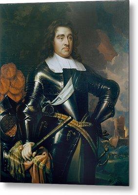 General George Monk 1st Duke Metal Print by Samuel Cooper