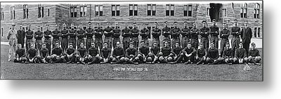 Georgetown U Football Squad Metal Print