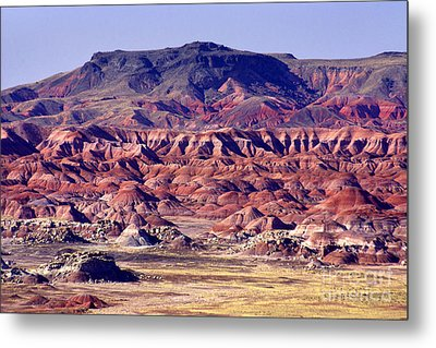 Georgia O'keefe Country - The Painted Desert Metal Print by Douglas Taylor