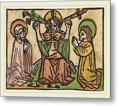 German 15th Century, Last Judgment Metal Print