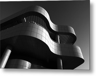 Getty Center Metal Print by Yue Wang
