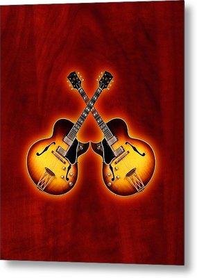 Gibson Jazz Metal Print by Doron Mafdoos