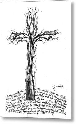 Give Me Jesus Metal Print by J Ferwerda