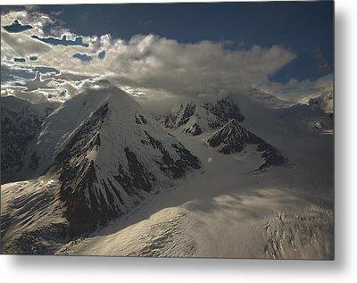 Glaciers Galore Metal Print by David Kehrli