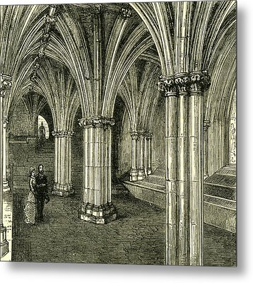 Glasgow Cathedral 1880 The Crypt Metal Print
