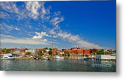 Gloucester Massachusetts Metal Print by Charles Dobbs