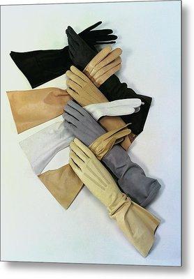 Gloves Metal Print by Erwin Blumenfeld