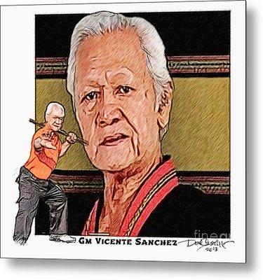 Gm Vicente Sanchez Metal Print by Donald Castillo