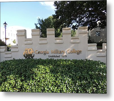 Metal Print featuring the photograph Gmc Milledgeville by Aaron Martens