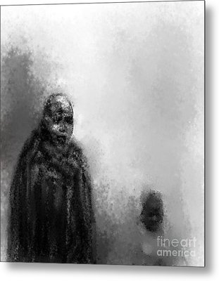 Go Fetch The Water Metal Print by Rc Rcd