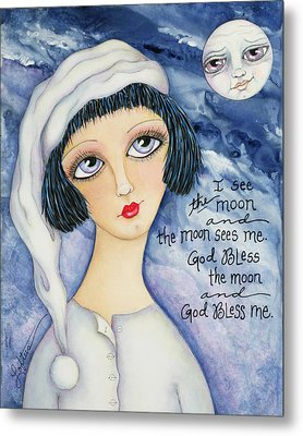 God Bless Me Metal Print by Joann Loftus