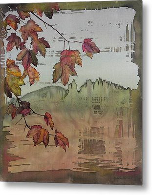 Gold Ridge Maple Metal Print by Carolyn Doe