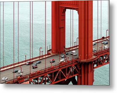 Golden Gate Bridge Metal Print by Yue Wang