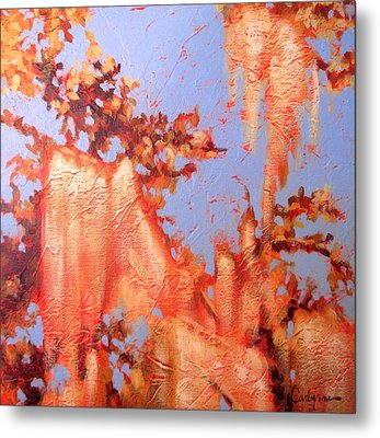 Golden Hour 5 Metal Print by Carlynne Hershberger