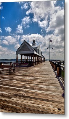 Metal Print featuring the photograph Gone Fishing by Sennie Pierson