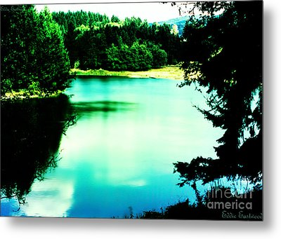 Metal Print featuring the photograph Gorge Waterway Victoria British Columbia by Eddie Eastwood