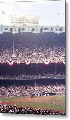 Gorgeous View Of Old Yankee Stadium Metal Print