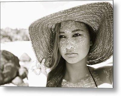 Gorgeous Young Woman Metal Print by Kicka Witte