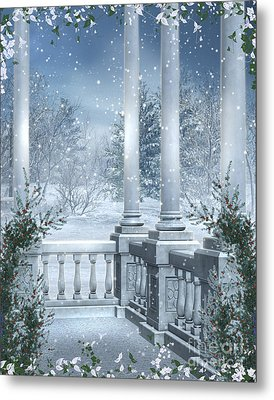 Gothic Winter Metal Print by Boon Mee