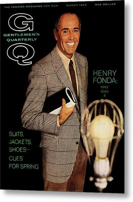 Gq Cover Of Henry Ford Metal Print