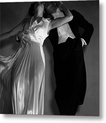 Grace And Paul Hartman Metal Print by Edward Steichen
