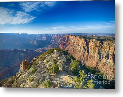 Grand Canyon - Sunset Point Metal Print by Juergen Klust