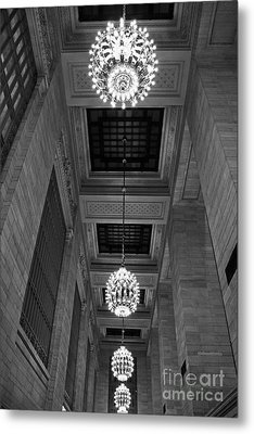 Grand Central Metal Print by Alison Tomich