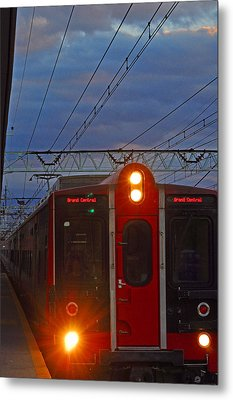 Grand Central Line Metal Print by Peter  McIntosh