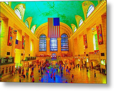 Grand Central Terminal Metal Print by Dan Hilsenrath