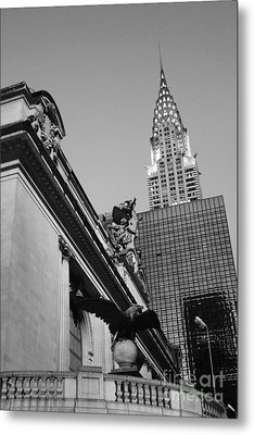 Grand Empire State Metal Print by Alison Tomich