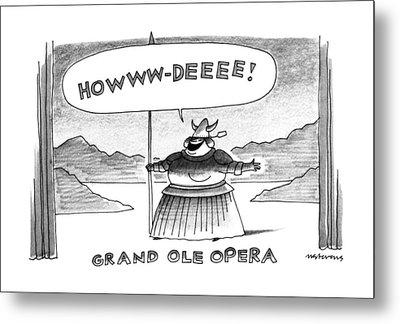 Grand Ole Opera Metal Print