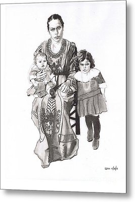 Grandma's Family Metal Print by Sean Connolly
