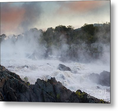 Metal Print featuring the photograph Great Falls Mist by Dale Nelson