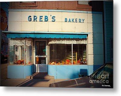 Greb's Bakery Pittsburgh Metal Print by Jim Zahniser