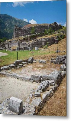 Greece. Ruins Of Ancient Dodoni Metal Print by Ken Welsh