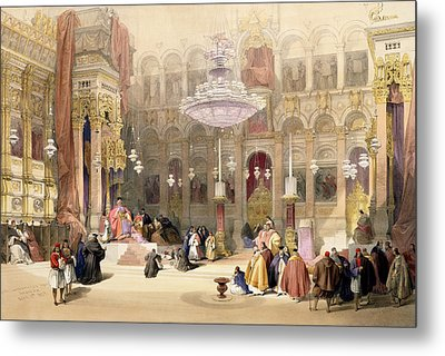 Greek Church Of The Holy Sepulchre Metal Print