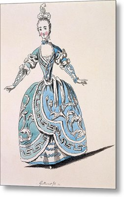 Greek Costume For The Chorus Metal Print