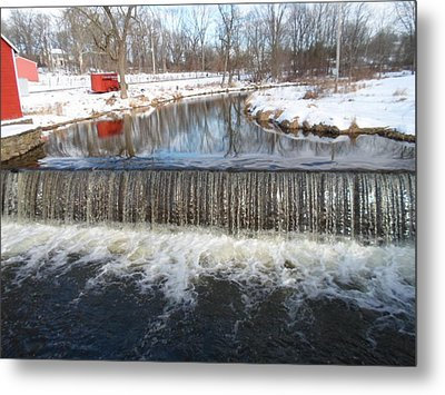 Gristmill Waters Metal Print by Jenna Mengersen