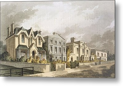 Group Of Villas In Herne Hill Metal Print by English School
