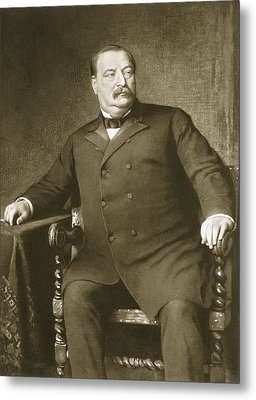 Grover Cleveland Metal Print by American School