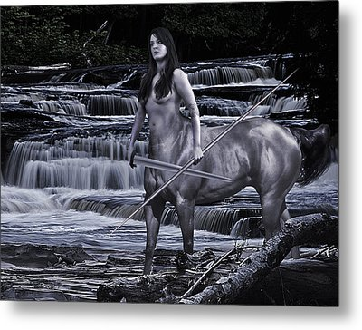Guardian II Metal Print by Sean Holmquist