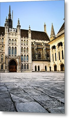 Guildhall Building And Art Gallery Metal Print by Elena Elisseeva